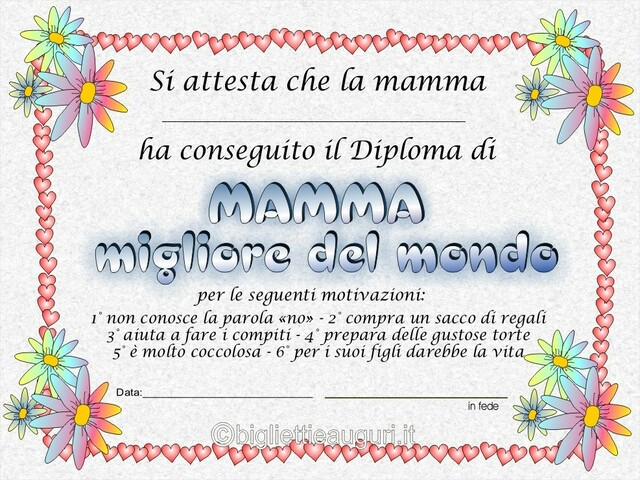 diploma per mamma 2
