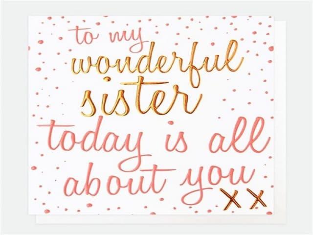 frasi auguri sorella
