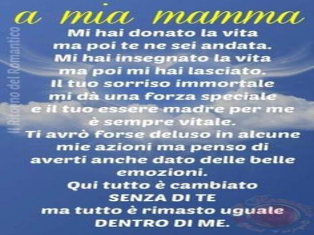 Mamma Defunta Frasi Dolci Dediche E Poesie Per Ricordarla A