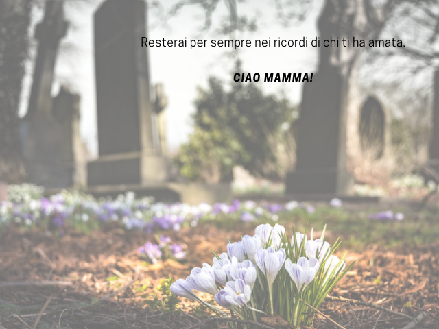 frasi morte mamma