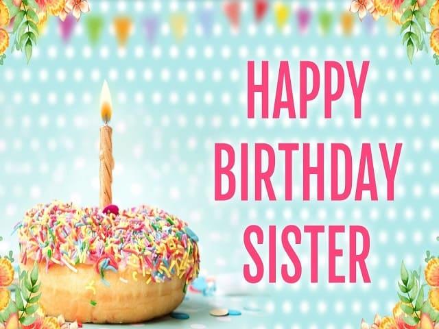 frasi di compleanno per sorella