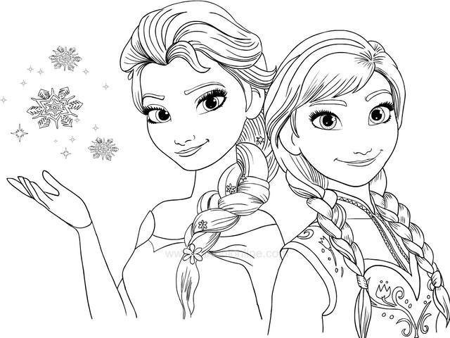 frozen Anna e Elsa insieme