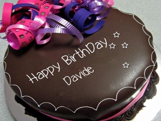 happy birthday Davide foto