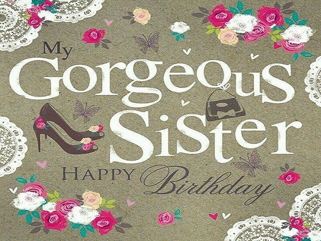 immagini buon compleanno sorella