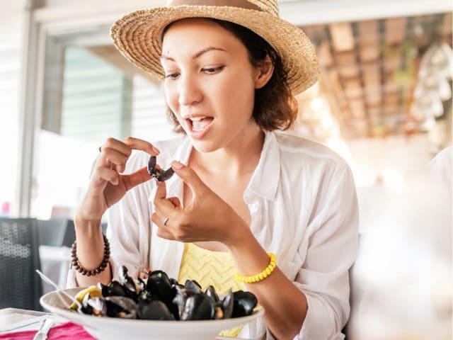 mangiare cozze in gravidanza foto