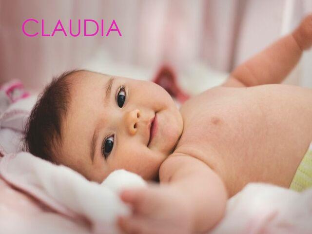 nome claudia