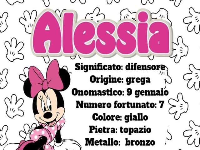 significato del nome alessia