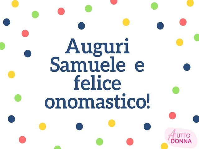 onomastico nome samuele