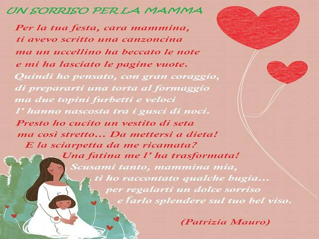 poesia festa della mamma
