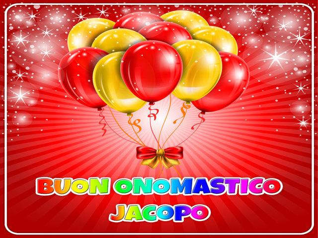 Buon Onomastico Jacopo 2