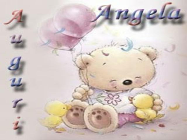 Immagini buon onomastico Angela