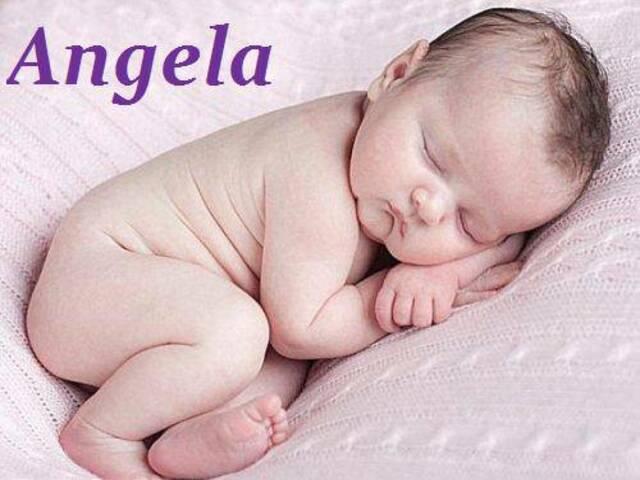 angela nome origine foto