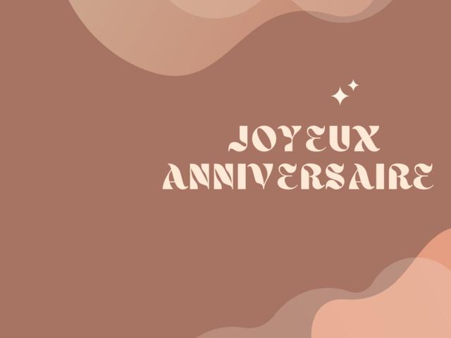 anniversario in lingua