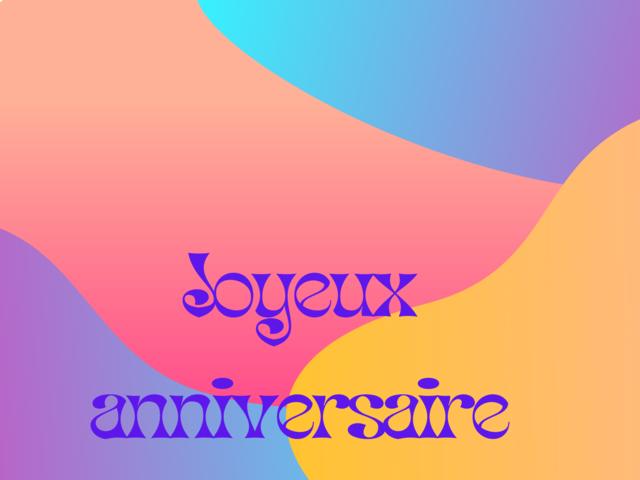 anniversario lingua gratis