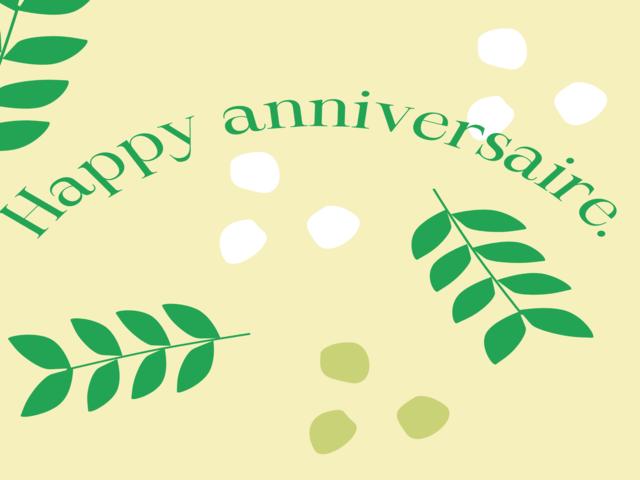anniversario lingua