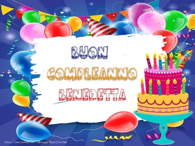 buon compleanno benedetta 2