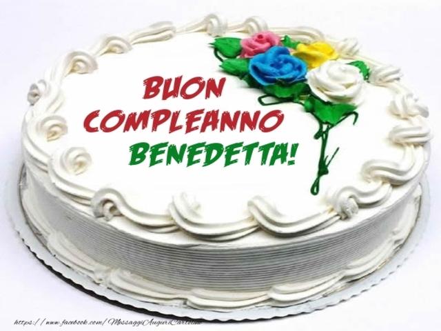 buon compleanno benedetta 3