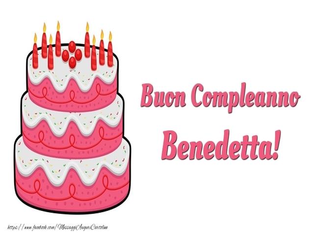 buon compleanno benedetta 7