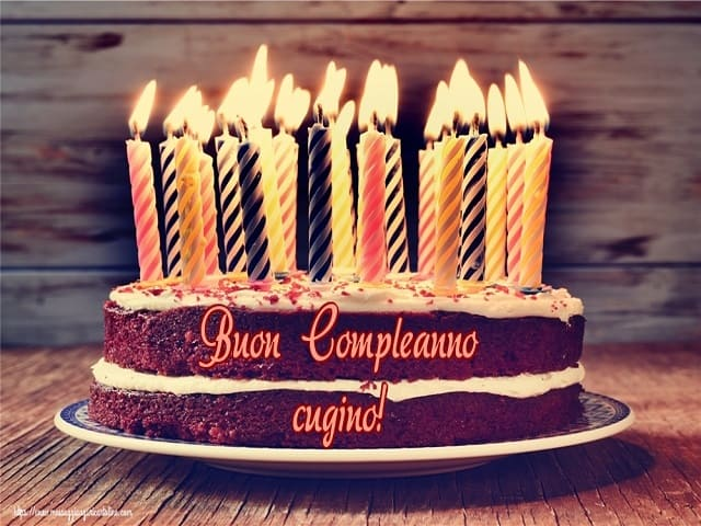 buon compleanno cugino in francese