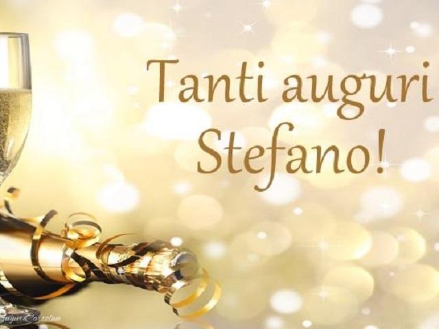 buon onomastico Santo Stefano
