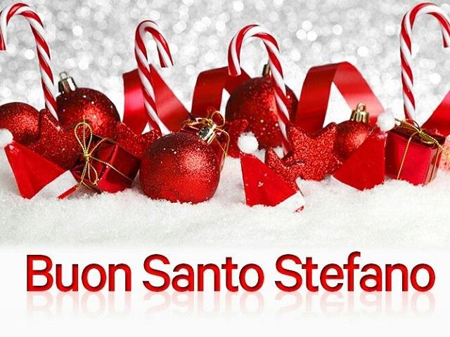 buon santo Stefano auguri a tutti