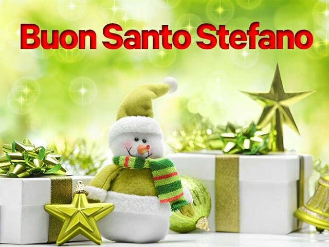 buon santo Stefano tanti auguri