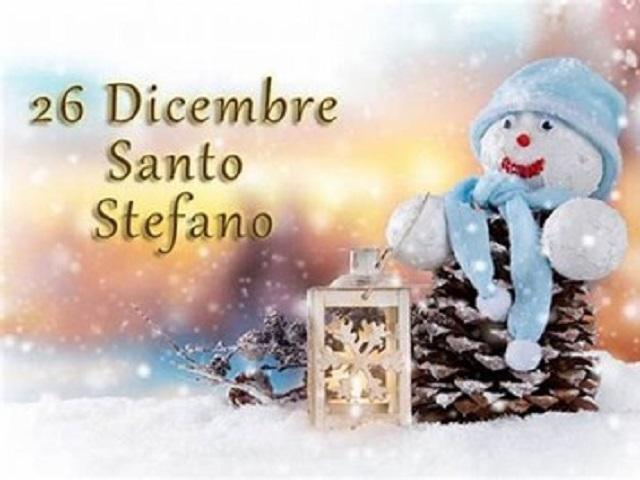 buone feste santo Stefano