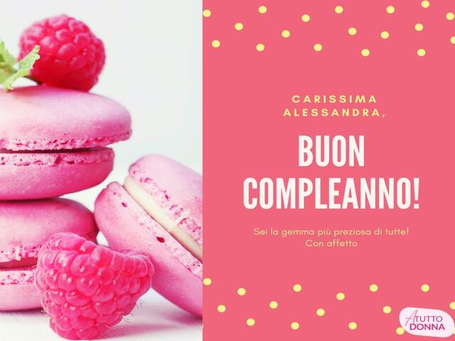 compleanno alessandra