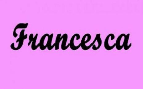 Francesca significato