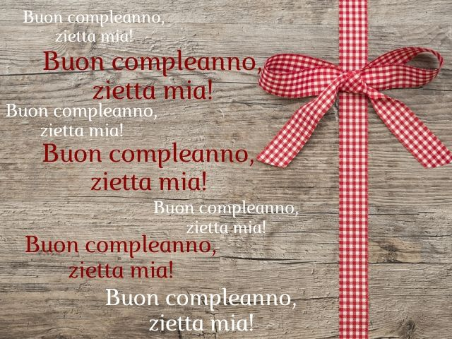 frasi compleanno zia
