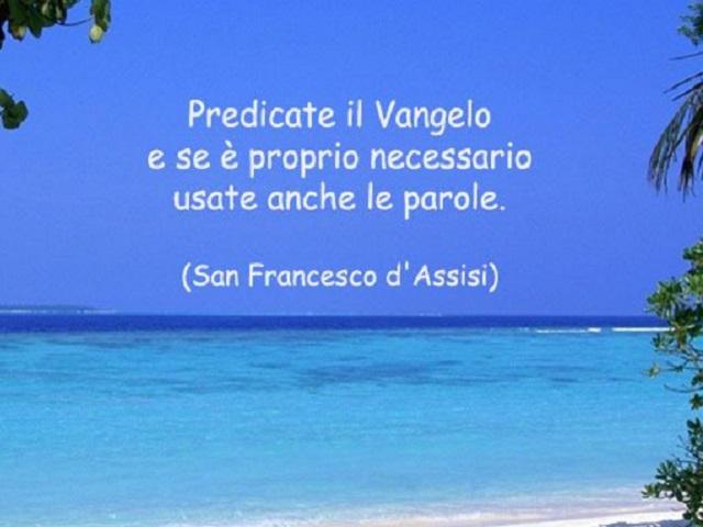 Frasi San Francesco Aforismi Citazioni Immagini E Video A