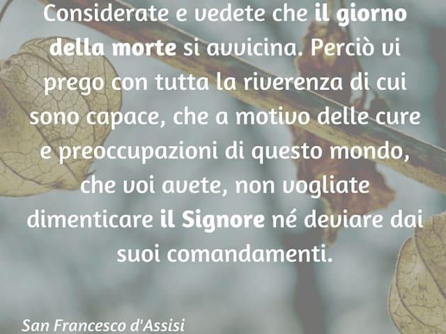frasi San Francesco d'Assisi