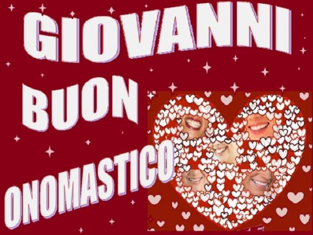 Giovanni onomastico