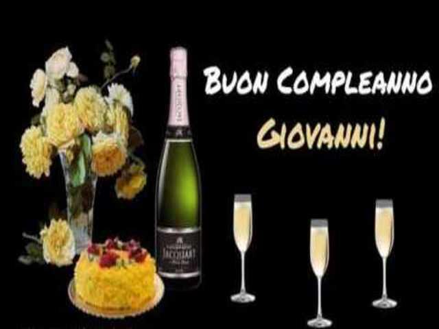Buon Compleanno Giovanni Le Immagini Piu Belle E Le Frasi Piu