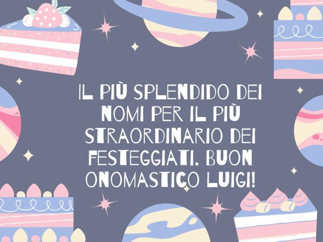 onomastico di Luigi