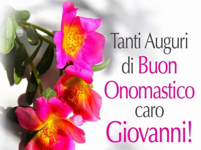 onomastico Giovanni data