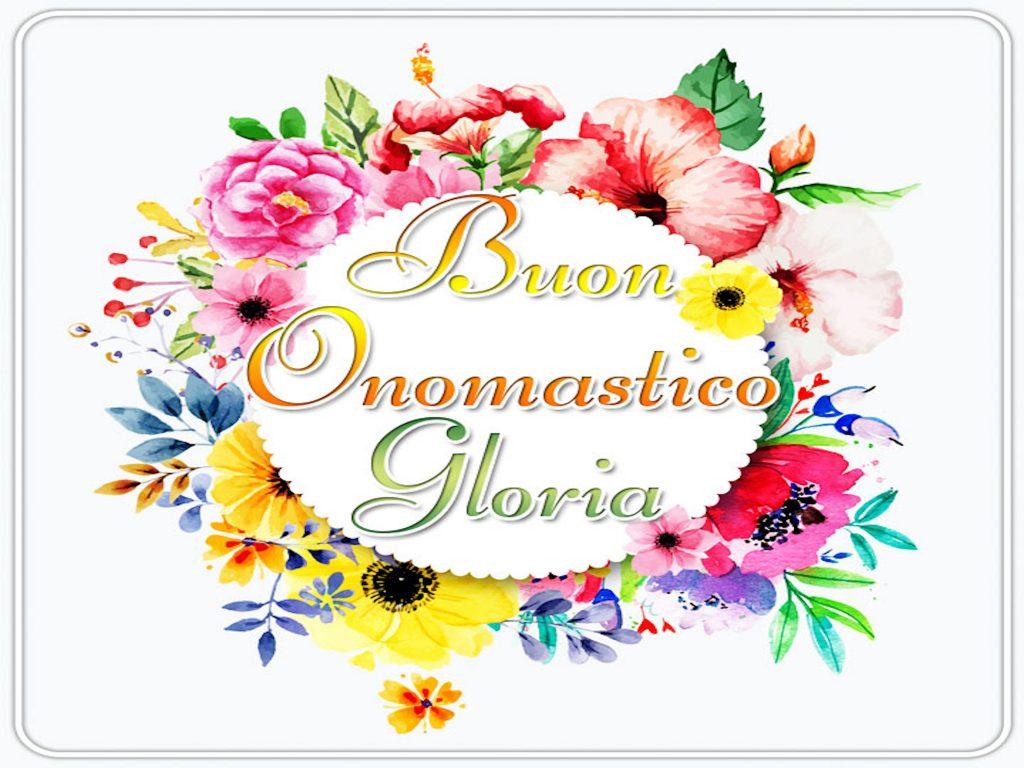 onomastico gloria