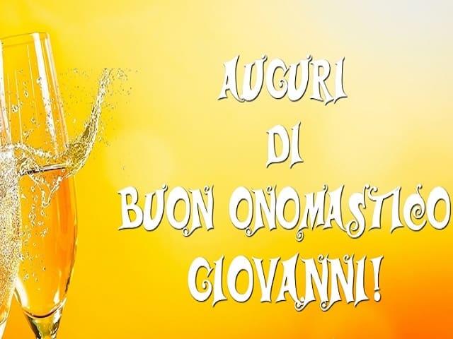 s. Giovanni onomastico