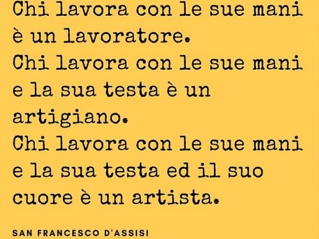 San Francesco d'Assisi frasi
