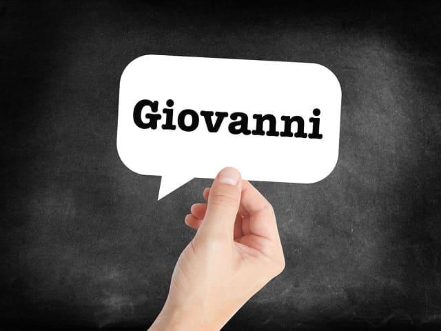 significato nome Giovanni
