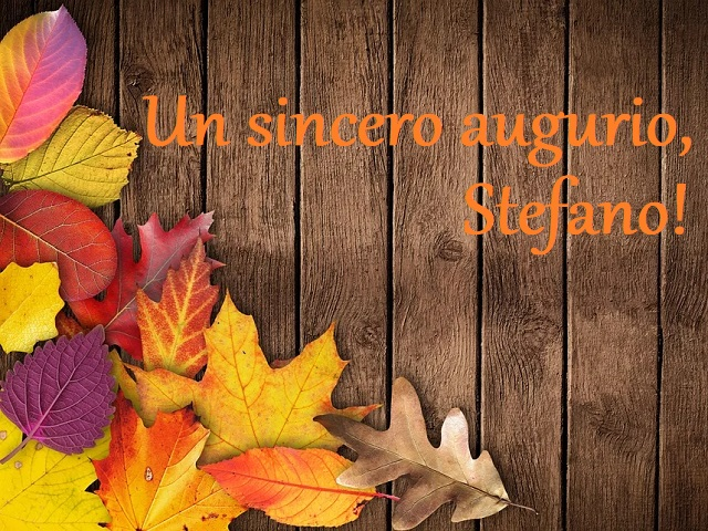tanti auguri Santo Stefano