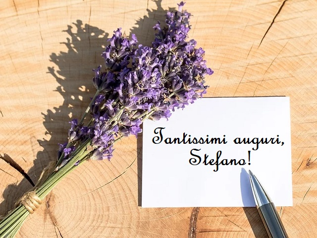 tanti auguri Stefano