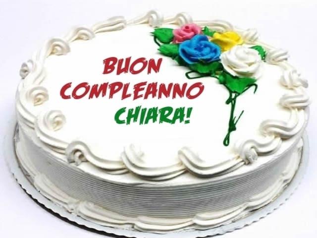 torta compleanno chiara foto