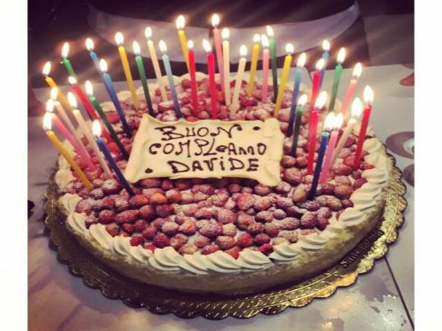 torta compleanno davide foto