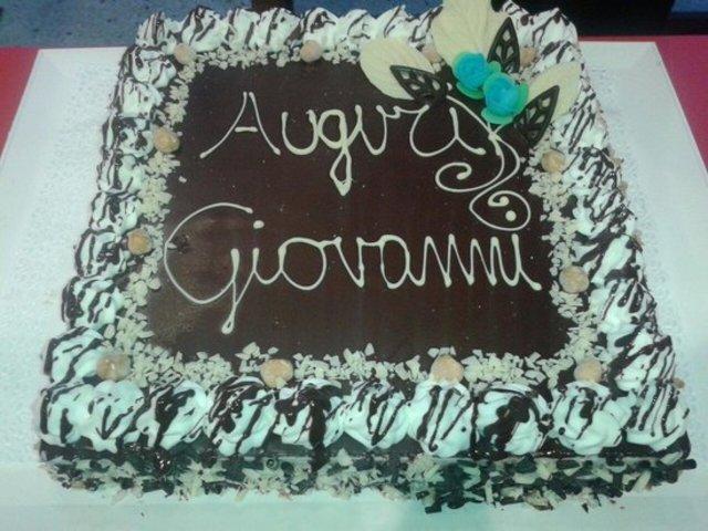 torta compleanno giovanni foto
