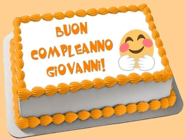 torta di buon compleanno giovanni foto