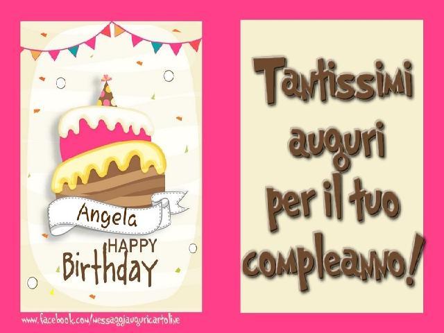 torta di compleanno angela