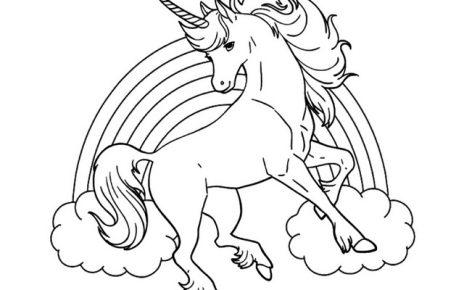 unicorni disegni da colorare