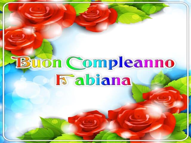 Buon Compleanno Fabiana foto