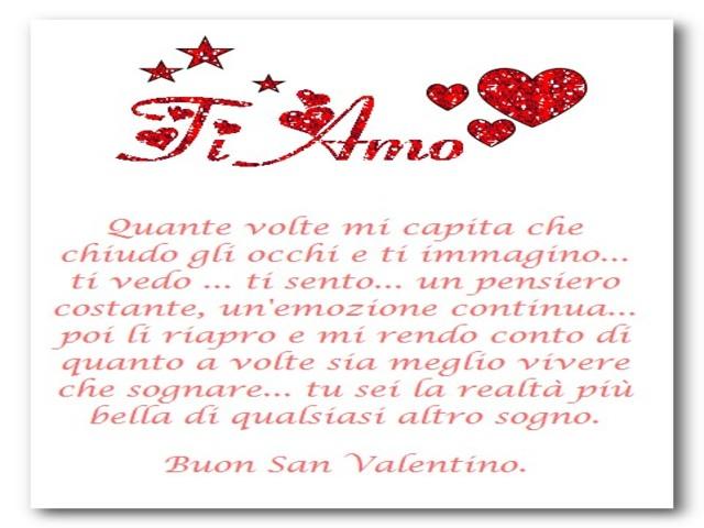 Dediche San Valentino